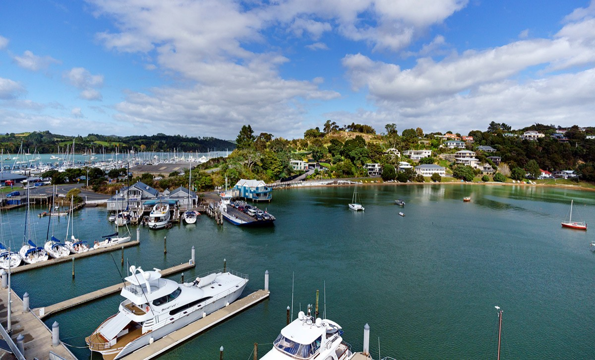 Opua marina, Bay of Islands NZ