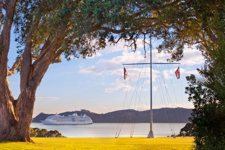 Bay of Islands cruise ship information Waitangi