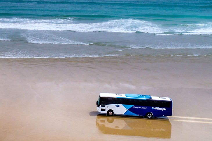Fullers GreatSights Cape Reinga Coach