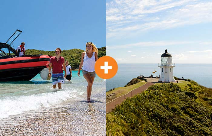 Bays and Beaches + Cape Reinga